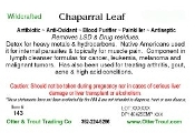Chaparral Leaf