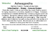 Ashwaganda Root Cut