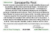 Sarsaparilla (Sweet Indian)