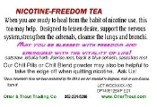 Nicotine Freedom Tea